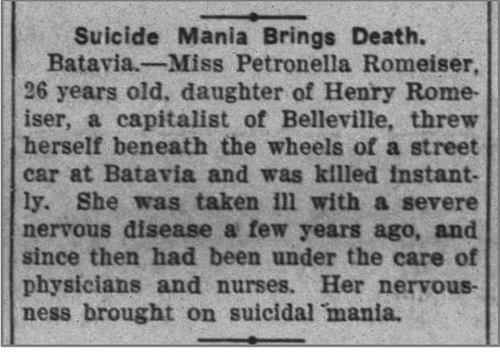 suicide mania