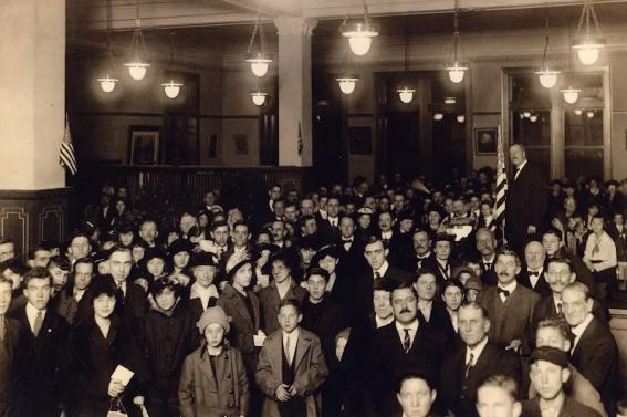 Library Dedication, January 20, 1916