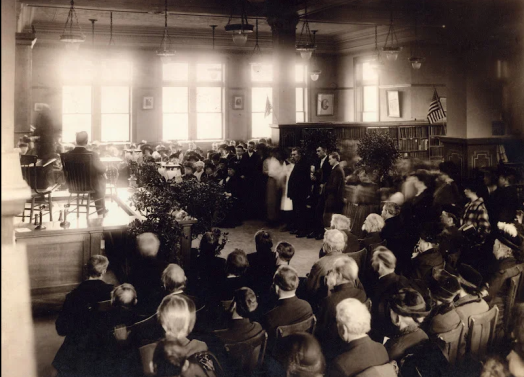 Library Dedication, January 20, 1916